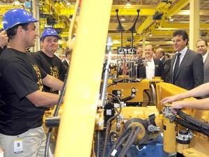 1069d7c75 Caterpillar investe R$ 170 mi em nova fábrica no Paraná | Folha de Londrina