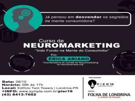 Desconto no Curso de NeuroMarketing - Indo Fundo na mente do Consumidor! - 27/06/2016