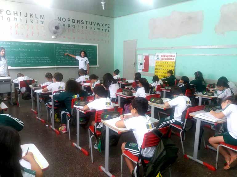 Angela Candioto/Divulgação - Escola Municipal Vânia Maria Simão tem 300 alunos, 95 deles são atendidos em período integral
