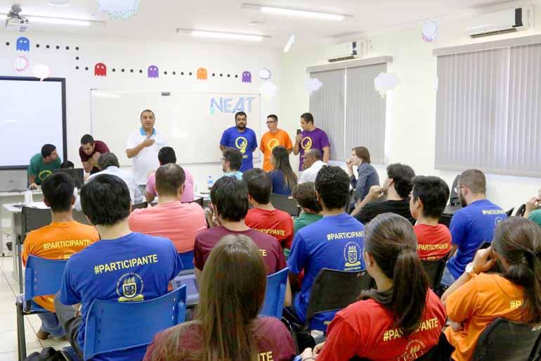 Fotos: Jean Guarino/Divulgação - Duas das cinco equipes participantes foram premiadas por desenvolver as melhores ideias da primeira edição do Hackathon – Neatics