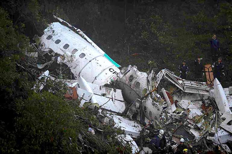 Raul Arboleda/AFP/29-11-2016 - 20 profissionais de imprensa do País morreram na tragédia aérea que envolveu a delegação da Chapecoense