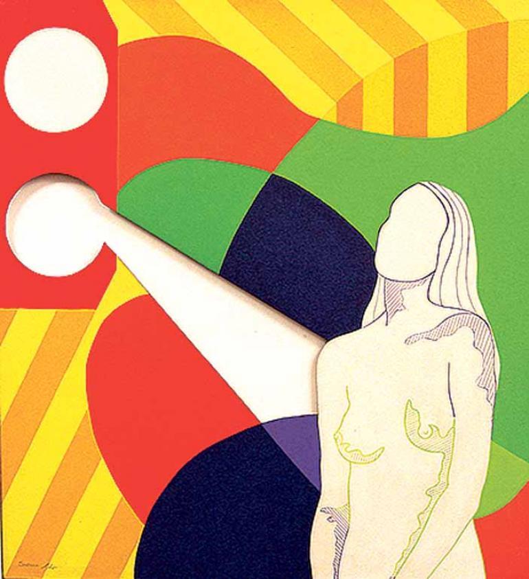 Reprodução - Tela de Suzana Lobo integra a mostra no MAC