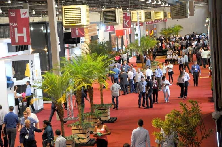 Gustavo Carneiro - A feira conta com 168 expositores e deve gerar cerca de R$ 600 milhões em negócios