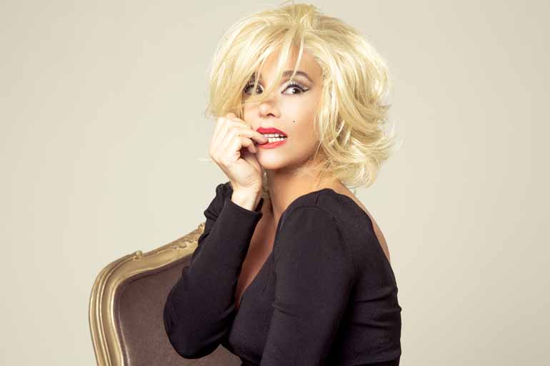 Divulgação - Danielle Winits interpreta Marilyn Monroe em