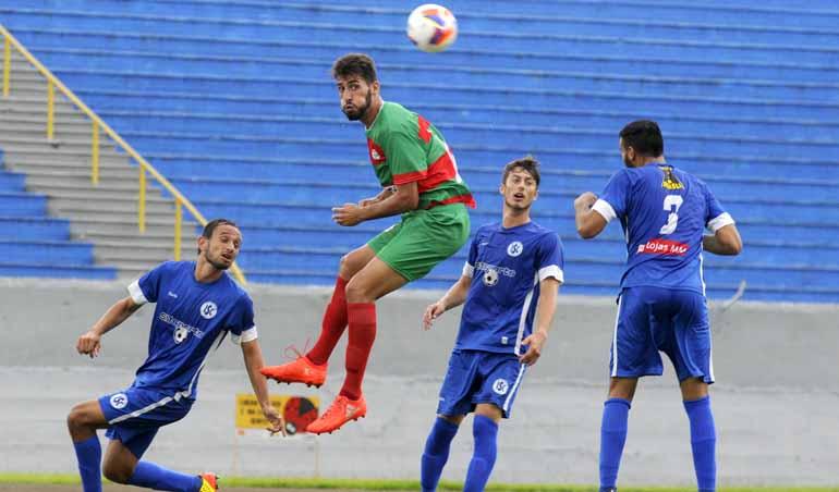 Saulo Ohara - Lusinha fez um jogo de altos e baixos e soma seu primeiro ponto na competição: próximo adversário é o União, em Francisco Beltrão