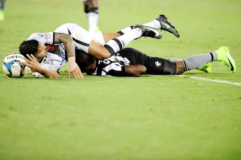 Dhavid Normando/Futura Press/Estadão Con - O Botafogo está na terceira colocação do Grupo B, enquanto o Vasco é o quarto colocado no Grupo C