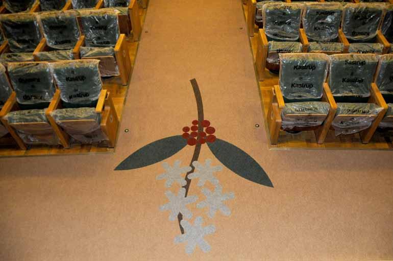 O ramo de café no carpete: símbolo do Ouro Verde e de Londrina