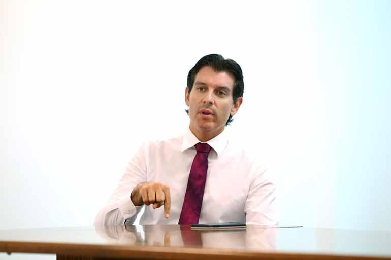 Fabio Alcover/02/03/2017 - O promotor de Defesa do Patrimônio Público, Ricardo Benvenhu, detalha na ação o esquema que gerou prejuízo de R$ 2,2 milhões aos cofres da Prefeitura de Londrina