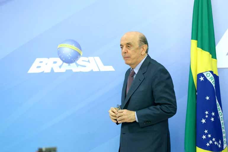 Valter Campanato/Agência Brasil - O senador José Serra afirmou que não recebeu vantagens indevidas da Odebrecht, nem tomou medidas que tenham beneficiado a empresa nos cargos que ocupou
