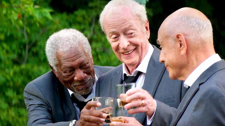 Morgan Freeman,Michael Caine e Alan Arkin: trio de veteranos está numa produção homônima a um filme de 1979, agora com mais humor e graça