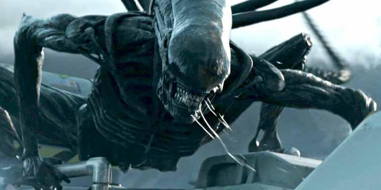 Reprodução - No filme, Riddley Scott presta um tributo ao artista suíço Hans Ruedi Giger que deu formas tenebrosas ao Alien e morreu em 2014