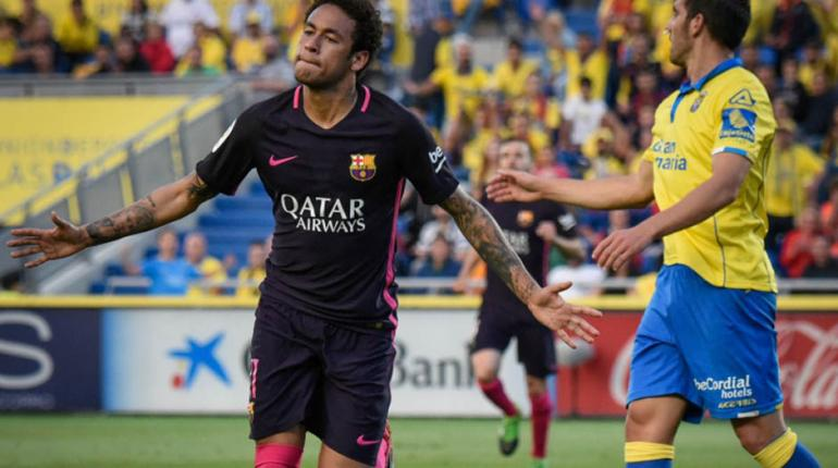 Fotos: Desiree Martin/AFP - Neymar está dando show com camisa do Barcelona