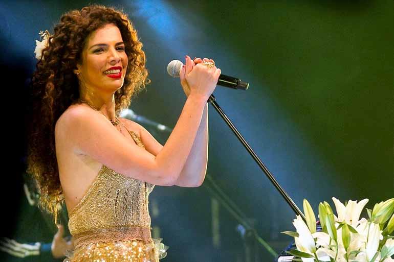 Divulgação - Vanessa da Mata: participação no show será em duas músicas, mas ainda haverá
