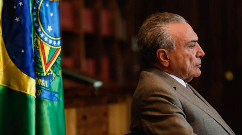 Marcos Corrêa/PR - Temer fez um discurso pouco depois das 16h