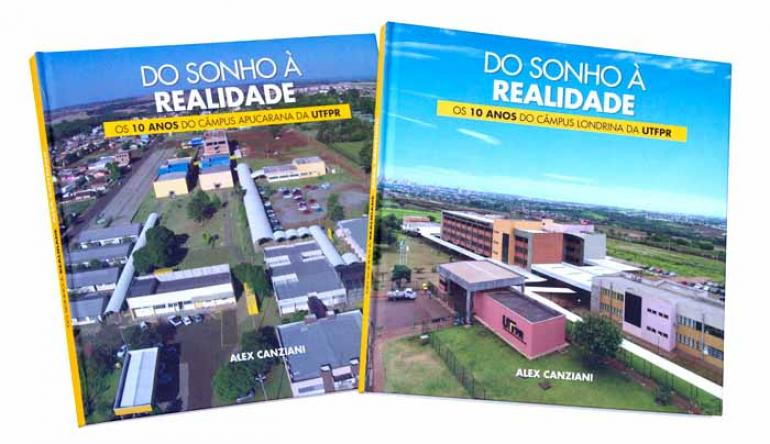 Divulgação - Obras reúnem depoimentos de pessoas que ajudaram a construir a história dos campi de Londrina e Apucarana