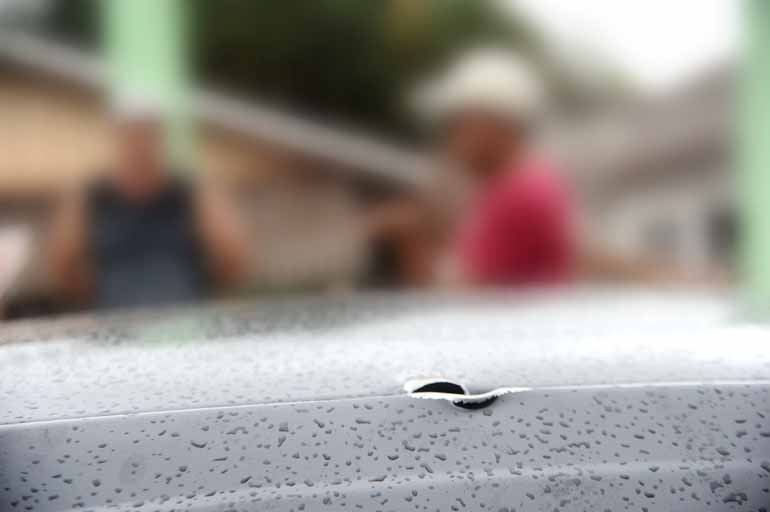 Anderson Coelho/30-01-2016 - Chacina em janeiro de 2016 deixou 12 pessoas mortas; série de assassinatos foi desencadeada após a morte do soldado Cristiano Bottino