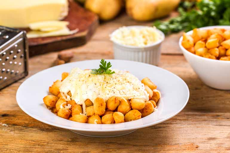 Shutterstock - Nhoque de cabotiá: prato fica mais leve devido ao uso de uma variedade de abóbora menos calórica