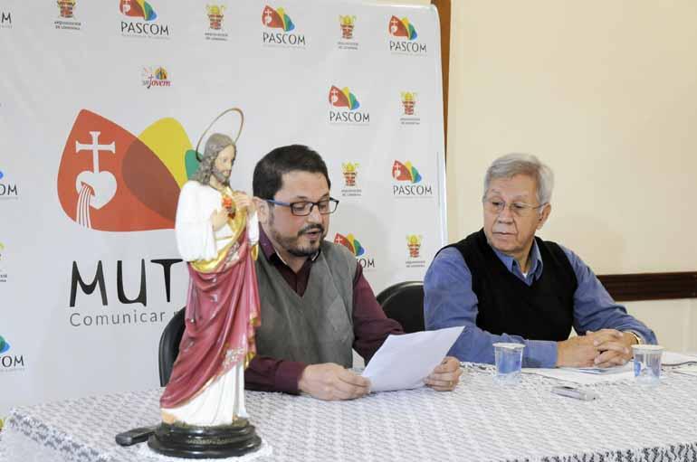 Gina Mardones - Padre Vandenir Araújo e dom Manoel João Francisco: anúncio da nomeação feita pelo papa