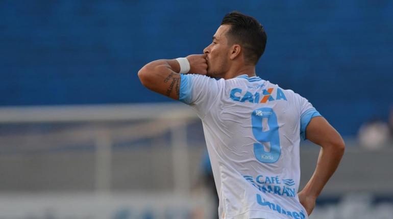Gustavo Oliveira/ Londrina Esporte Clube - Belusso é o homem-gol do Tubarão