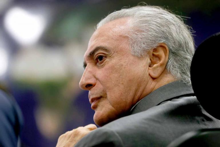 Beto Barata/PR - O presidente Michel Temer (PMDB), oito ministros e pelo menos 39 deputados federais e 24 senadores são formalmente investigados no STF