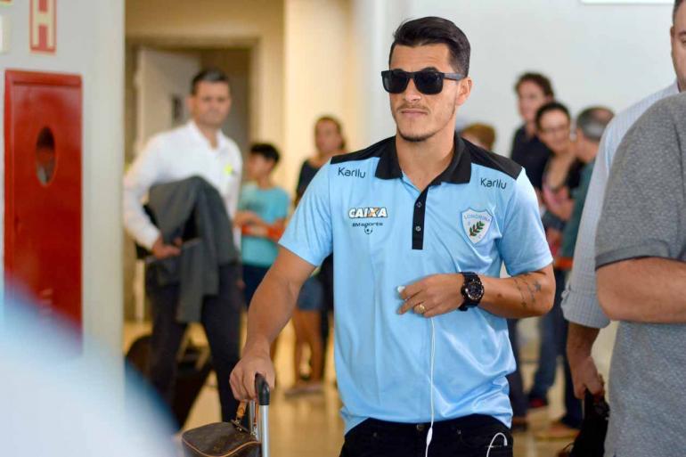 Gustavo Oliveira/Londrina Esporte Clube - Camisa 9 alviceleste já balançou as redes seis vezes no Campeonato Brasileiro