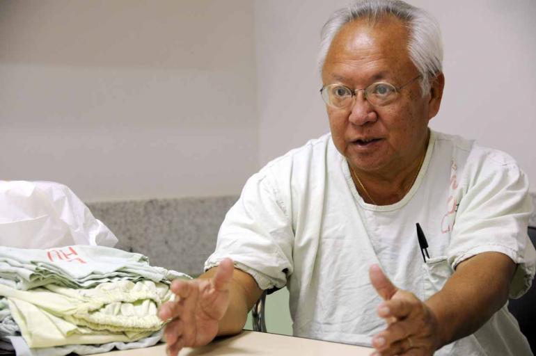 Saulo Ohara - Reinaldo Kuwahara, chefe médico do CTQ: