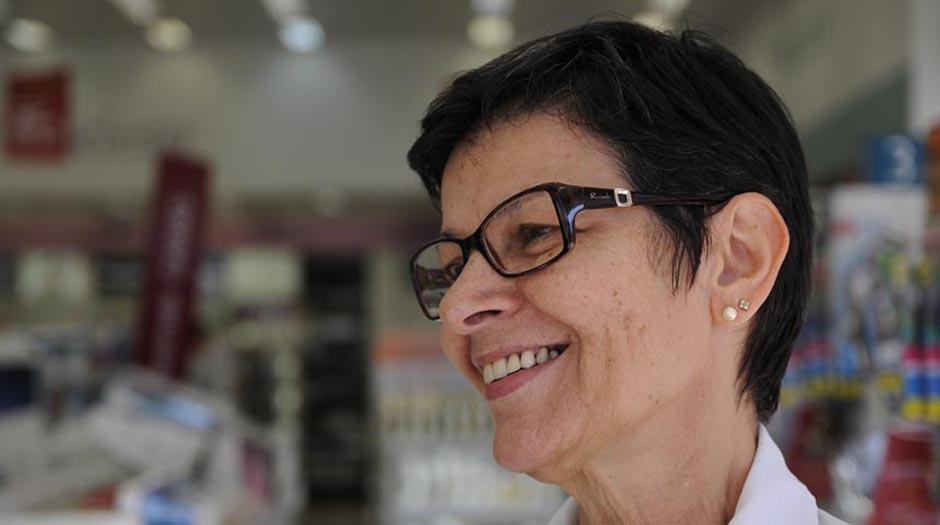 Saulo Ohara - A aposentada Rose Benelli: