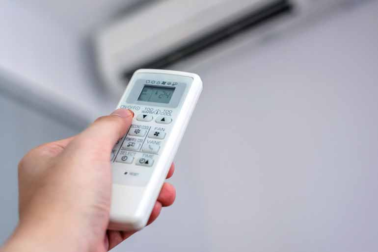 Shutterstock - A intensificação do uso do ar-condicionado contribui para o aumento da demanda pela energia elétrica no período