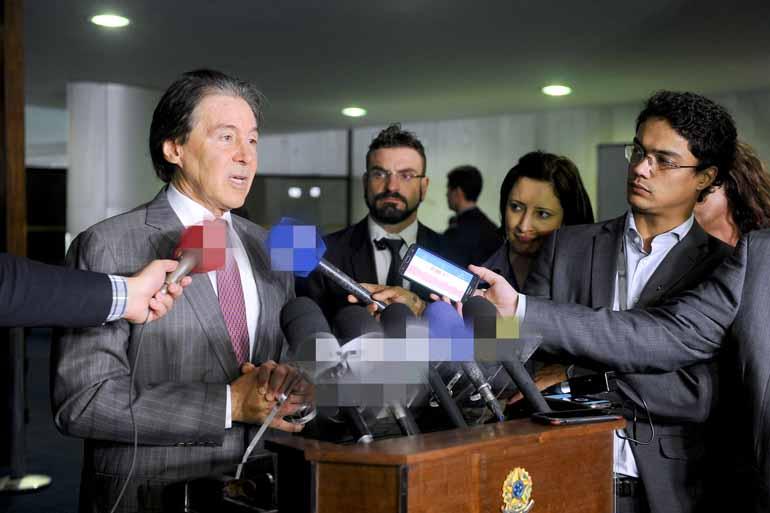 Marcos Brandão/Senado Federal - Eunício Oliveira: 'Que pauta prioritária que eu não sei?'