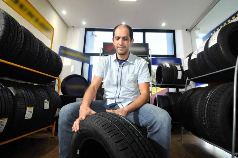 Anderson Coelho - A empresa de Bruno Lunardão participou pela primeira vez de uma licitação e gostou da experiência, considerando fácil todo o processo