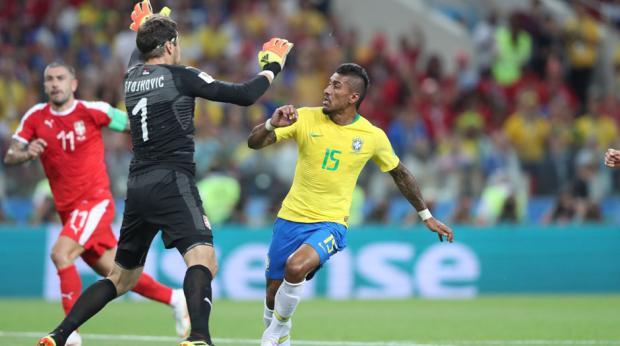 Brasil vence Sérvia e enfrenta México nas oitavas  bf914a14474c1