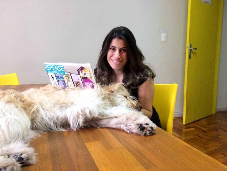 Divulgação - A médica veterinária Carol Rocha fundou uma plataforma de qualificação de profissionais para cuidados com pets