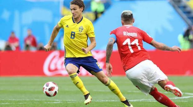Suécia derrota a Suíça e volta às quartas da Copa após 24 anos ... 1b9bd7eeed83f