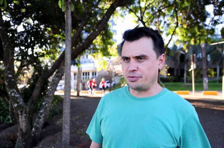 Marcos Zanutto - O administrador de empresas Odirlei Costa costuma pedalar duas vezes por semana e jogar futebol aos sábados