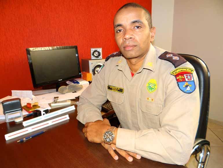 Luiz Guilherme Bannwart/ Divulgação - Tenente Luciano Camilo: 'Armadilhas como galhos e cercas de arames podem custar a vida dos banhistas'
