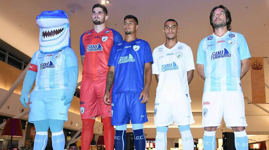 a6fd0c49de Apresentados os novos uniformes do Tubarão para a temporada 2019 ...