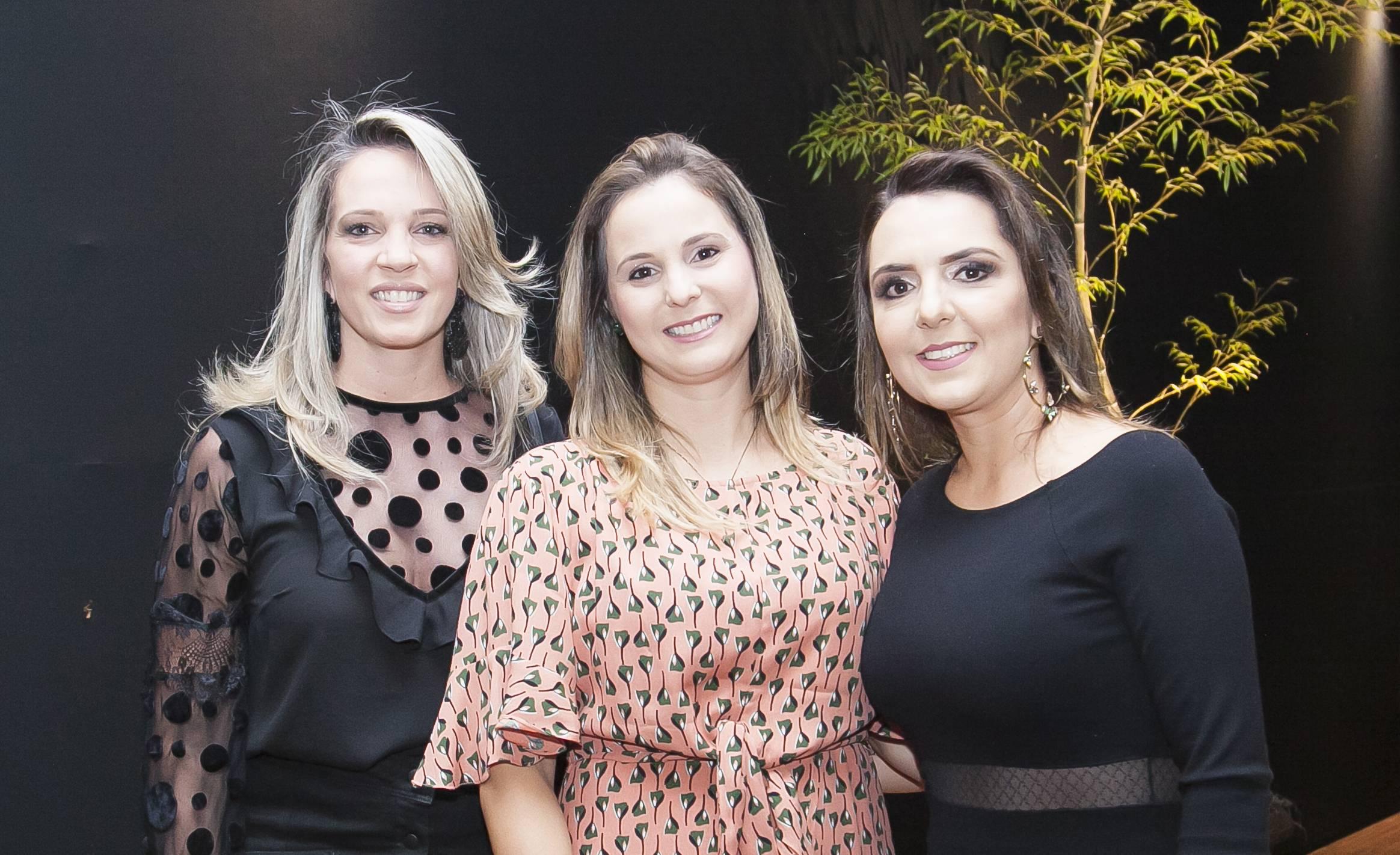 Angélica Canevari, Tatiana Baptilani e Letícia Zirondi