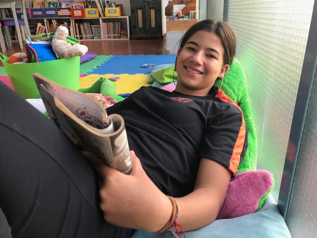 """Yasmim Caroline Pontes, 13 anos, estudante: """"Livros de terror me despertam a curiosidade"""""""
