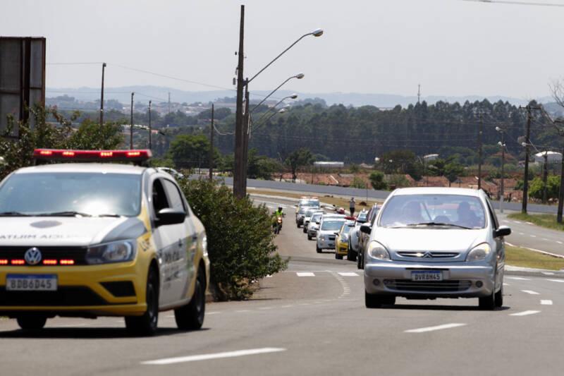 Londrina tem carreata em memória às vítimas de trânsito