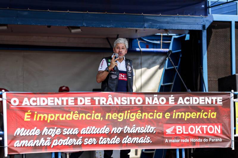 O empresário Rogério Lacerda fala sobre seu acidente em 2008