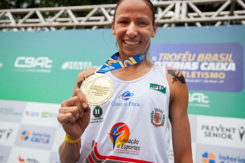 Londrinense Tatiane Raquel conquista o bronze no Meeting de Madri