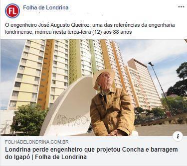 FOLHA NAS REDES - 19-11-2019 - Folha de Londrina